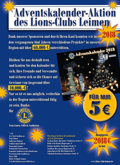 Adventskalender Lions Club